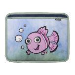 Pescados rosados lindos funda  MacBook