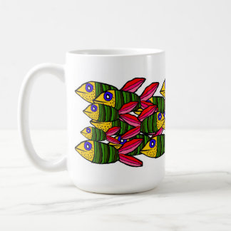 pescados taza de café