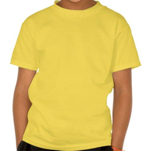 Pescados tribales anaranjados camiseta
