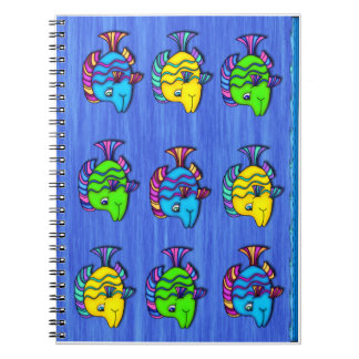 Pescados tropicales 1 cuaderno espiral