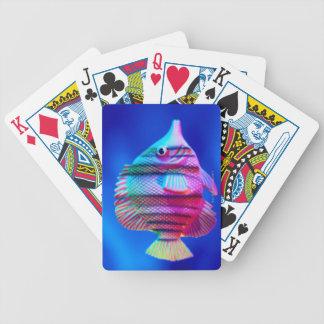 Pescados tropicales cartas de juego