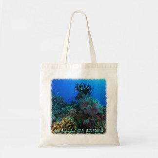 Pescados tropicales del mar de coral bolsa tela barata
