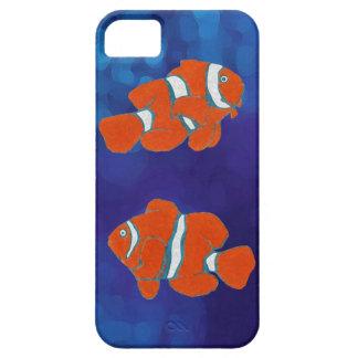 pescados tropicales del payaso del agua salada funda para iPhone 5 barely there