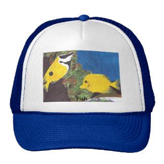 Pescados tropicales gorras