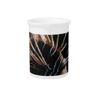 Pescados tropicales jarra para bebida