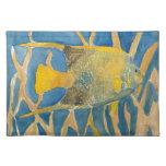 pescados tropicales mantel