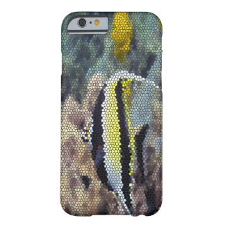 Pescados tropicales que sorprenden Bling Aston Funda De iPhone 6 Barely There
