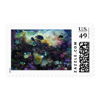 Pescados tropicales sellos