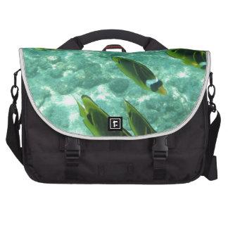 Pescados tropicales subacuáticos bolsas para portatil