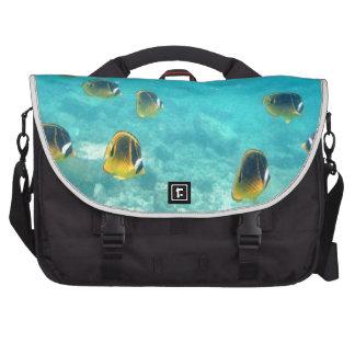 Pescados tropicales subacuáticos bolsas para portátil