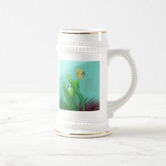 Pescados tropicales tazas de café