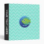 Pescados verdes; Aguamarina Chevron verde