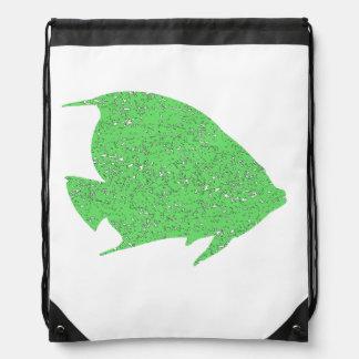 Pescados verdes apenados del ángel mochilas