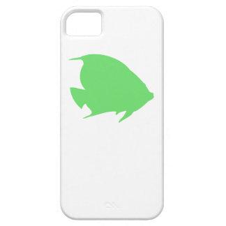 Pescados verdes del ángel iPhone 5 protector