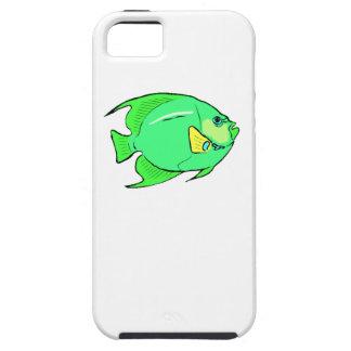 Pescados verdes del ángel iPhone 5 carcasas