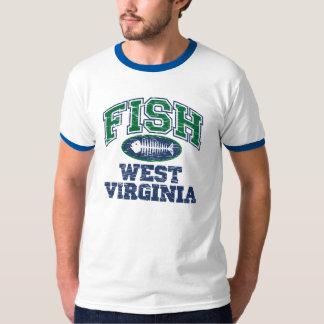 Pescados Virginia Occidental Playera