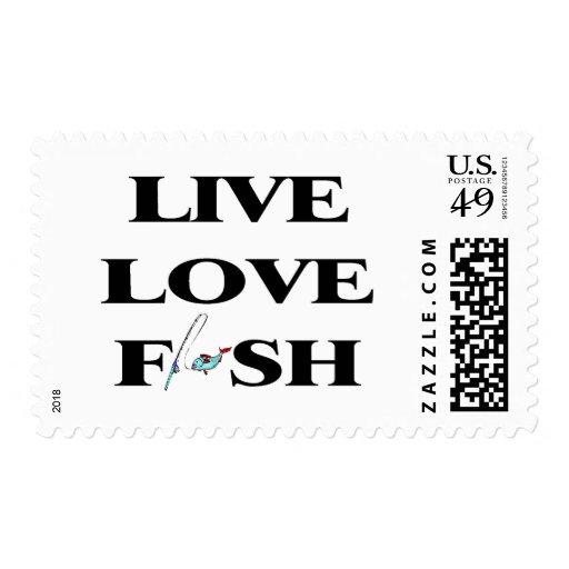Pescados vivos del amor sello