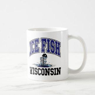 Pescados Wisconsin del hielo Taza De Café