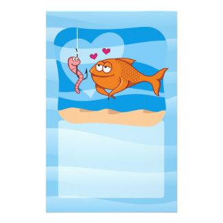 """Pescados y cebo en amor folleto 5.5"""" x 8.5"""""""