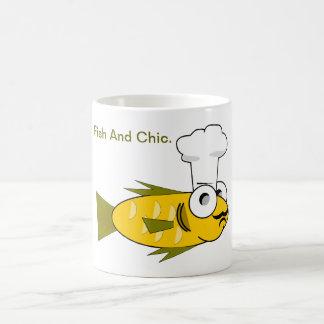 Pescados y Chic. Taza Clásica