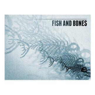 Pescados y huesos postales