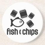 Pescados y microprocesadores posavasos manualidades