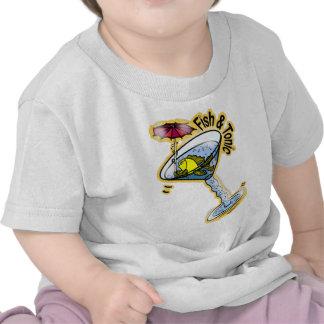 Pescados y tónico camisetas