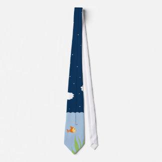 Pescando el lazo - bocado de última hora corbatas personalizadas