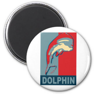Pescando para el delfín, Dorado, MahiMahi Imán Redondo 5 Cm