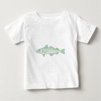 Pescas merluza codfish pez playera de bebé
