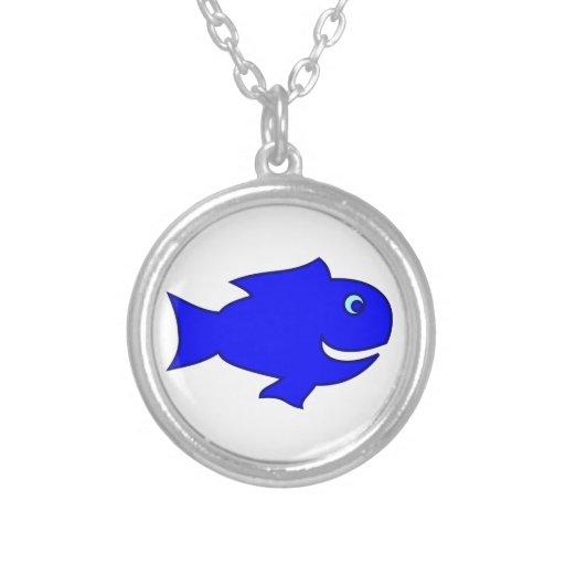 Pescas pez colgante redondo