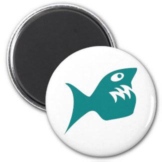 Pescas pez de pirateado predator imán para frigorifico