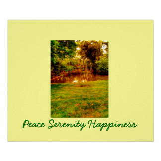 Pesce Serenity Happiness Nature Poster