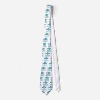 Pescetarian orgulloso corbatas personalizadas