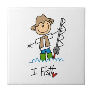 Pesco Azulejo Cuadrado Pequeño