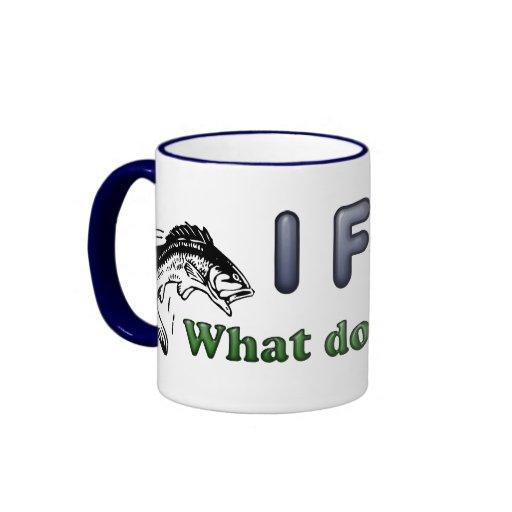 Pesco. ¿Qué USTED hace? Tazas De Café
