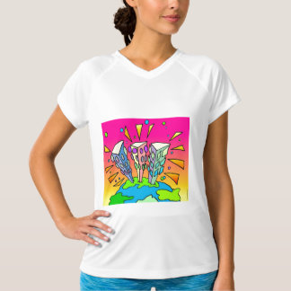 Pescoran Pop Buildings T-Shirt