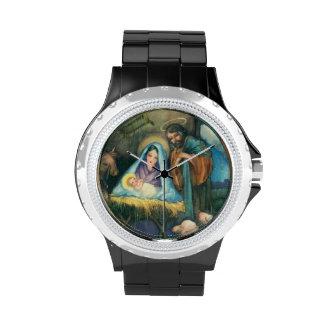 Pesebre de José Maria Jesús Reloj De Mano
