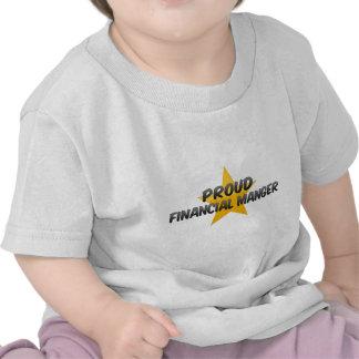 Pesebre financiero orgulloso camisetas