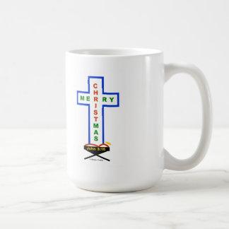 Pesebre/taza cruzada taza de café