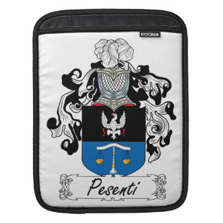 Pesenti Family Crest Sleeve For iPads
