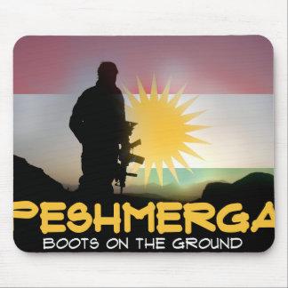 Peshmerga - Boots on the ground Mouse Pad