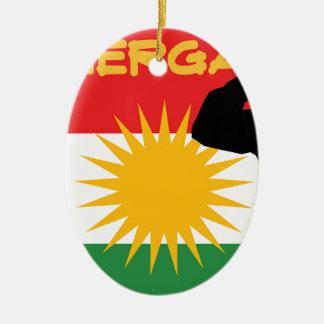 Peshmerga Ceramic Ornament