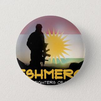 Peshmerga - FREEDOM FIGHTERS OF KURDISTAN Button
