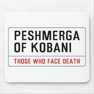 PESHMERGA OF KOBANI MOUSE PAD