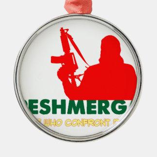 PESHMERHA - THOSE WHO CONFRONT DEATH METAL ORNAMENT