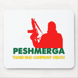 PESHMERHA - THOSE WHO CONFRONT DEATH MOUSE PAD