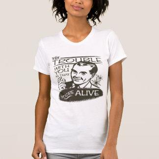 Pesimista divertido camiseta