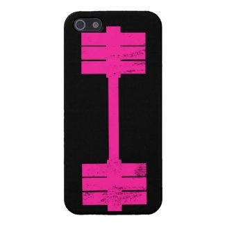 Peso de las rosas fuertes iPhone 5 protectores