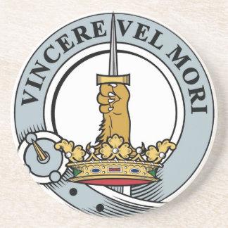Peso de papel del escudo de MacDowall Posavasos Manualidades